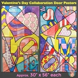 Valentine's Day Activity: Collaborative Classroom Door Poster