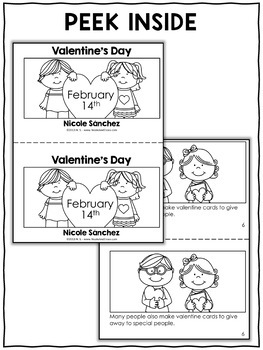 Mini Book and Activities - Valentines Day