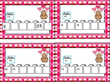 Valentine's Day 1st Grade Math Pack (8 CCSS Centers)