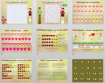 Valentine's Day 1st grade Math's Review