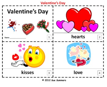 Valentine's Day 2 Booklets - ENGLISH
