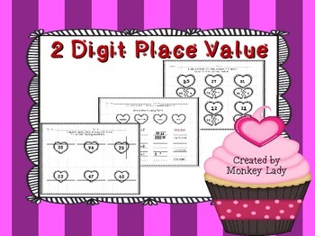 Valentine's Day 2 Digit Place Value