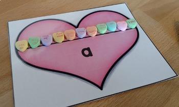 Valentines Day Kindergarten Math Centers