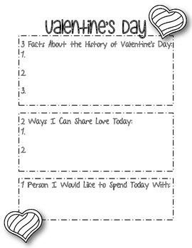 Valentine's Day 3, 2, 1