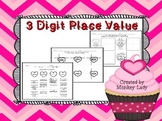 Valentine's Day 3 Digit Place Value