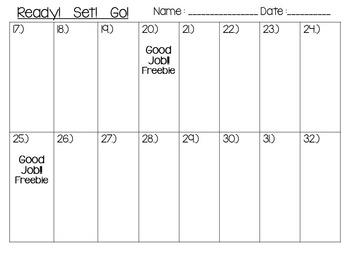 Valentines Day 3 X 2 Multiplication Task Card 32 Set