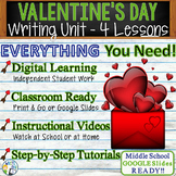 Valentine's Day Writing BUNDLE - Argumentative Persuasive Expository Narrative