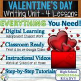 Valentine's Day Writing BUNDLE! - Argumentative Persuasive Expository Narrative