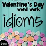 Valentine's Day Word Work - Idioms