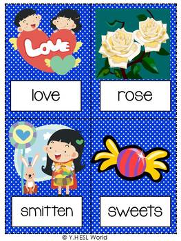 Flashcards Valentine's Day