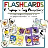 Flashcards Valentine's Day