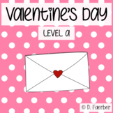 Valentine's Day: A Level A Reader with Word Study Differentiation