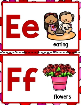 Valentines Day ABC!  A Valentine Themed Alphabet For Your Classroom