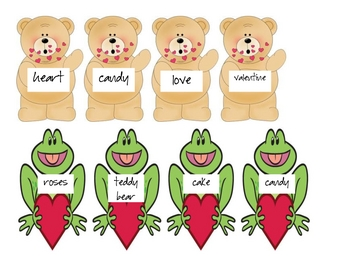Valentine's Day - ABC Order Game