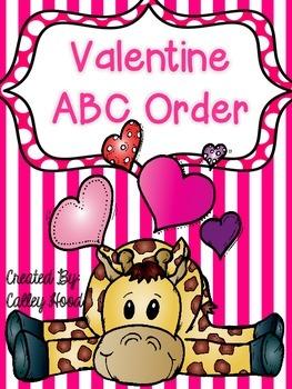 Valentine's Day ABC order