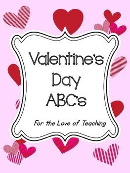 Valentine's Day ABC's