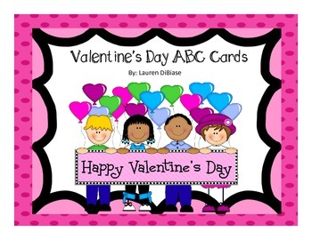 Valentine's Day ABCs Alphabet Cards!