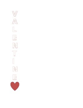 Valentines day acrostic poem template by brighter learning today valentines day acrostic poem template maxwellsz
