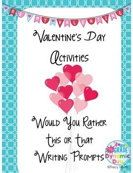 Valentine's Day Activites