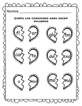 Valentine's Day Activities- {Spanish}