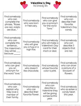 Valentine's Day Activities - Valentine's Day No Prep