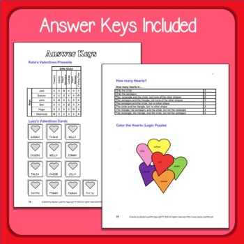 Valentine's Day Activities - Creative and Critical Thinking, Math & ELA