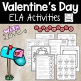 Valentine's Day Activities -ELA Bundle