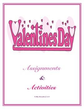 Valentine's Day Activities (Junior High School)