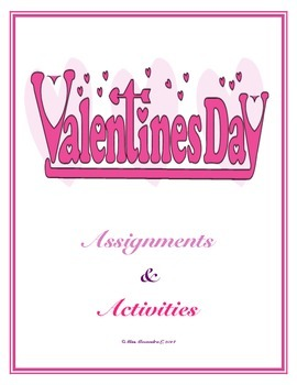 Valentine's Day Activities (Junior High School)