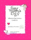 Valentine's Day Activities K-1st Grade