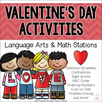 Valentine's Day Station Activities