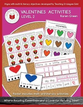 Valentines Day Activities - Level 2 FREEBIE