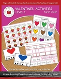 Valentines Day Activities - Level 2 FREEBIE