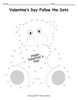 Valentine's Day Activities Pack for Elementary Grades K-3