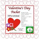 Valentine's Day Activities Packet 2016
