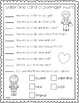 Valentines Day Activities | Printable | No Prep | FREE Task Sheets