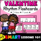 Valentines Day Activities: Rhythm Flashcards Activity: Valentines Music Theory
