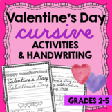 Valentines Day CURSIVE Handwriting Handwriting Without Tea