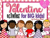 Valentine's Day - BIG KIDS