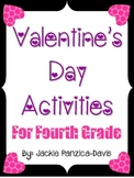 Valentine's Day Activities for Fourth Grade (Common Core-Aligned)