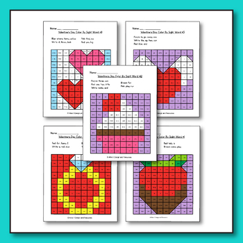 Valentines Day Activities for Preschool - Valentines Day Coloring