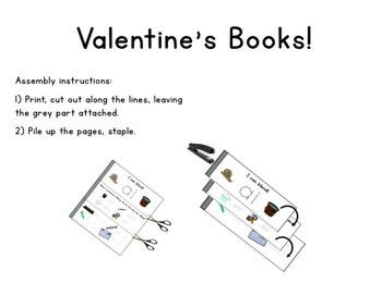 Valentine's Day Activity Books