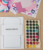 Valentines Day Activity & Lesson Plan - Hand made Envelope