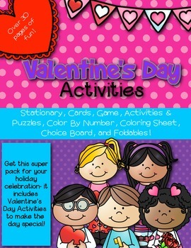 Valentine's Day Activity Pack