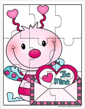 Valentine's Day Activity Packet