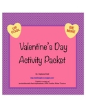 Valentine's Day Activity Packet - 6 Critical Thinking Activities