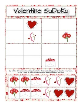 Valentine's Day Activity Packet - BUNDLE