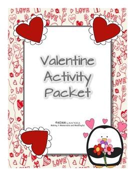 Valentine's Day Activity Packet - BUNDLE