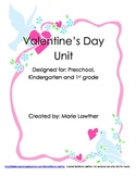 Valentine's Day Activity Packet Unit