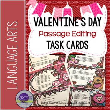 Valentines Day Activity Proofreading and Editing